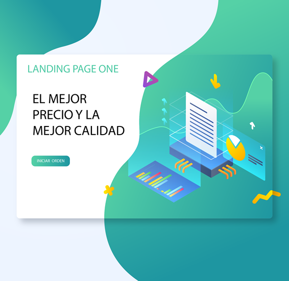LANDING PAGE ONE